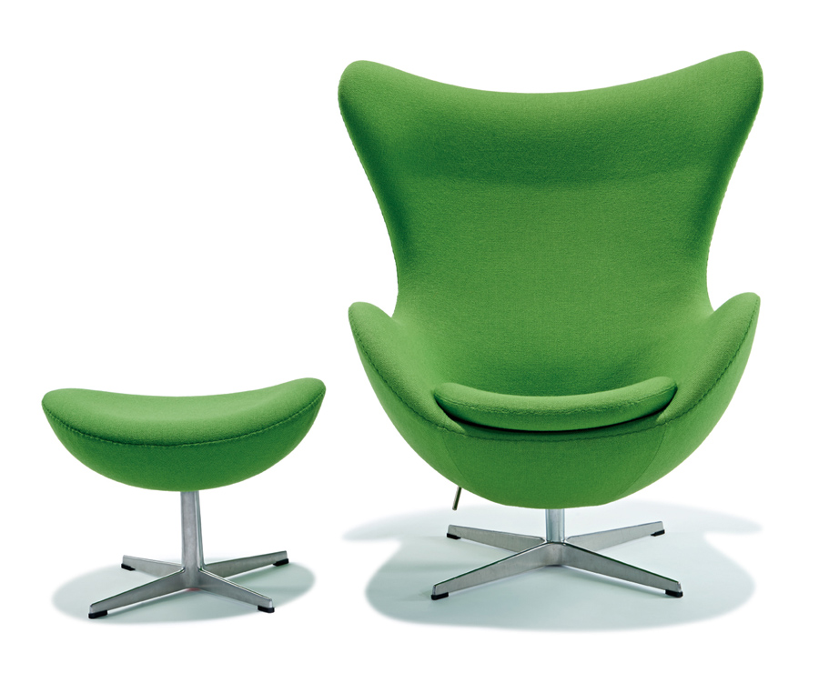 "Arne Jacobsen ""Ägget"". 1958. Utropspris: 24 400 SEK. LA Modern."