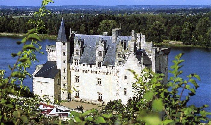Le Château de Montsoreau sur les bords de la Loire, à Montsoreau Photo via 37-Online.net