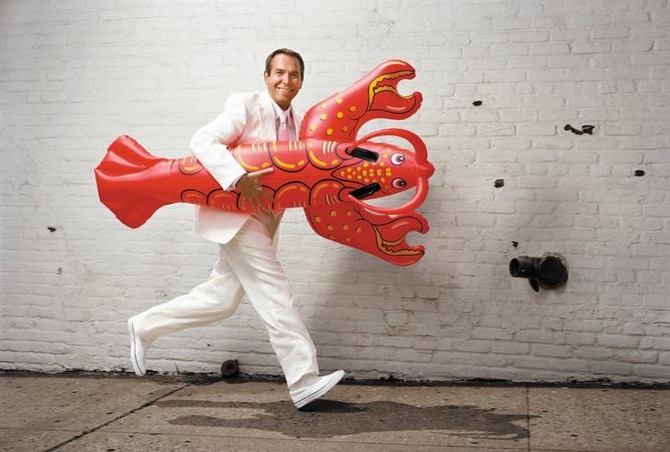 Jeff Koons, Lobster, 2002. Verket sägs vara inspirerad av ett fotografi på Dalí av Georges Platt Lynes. Foto: pinterest.com