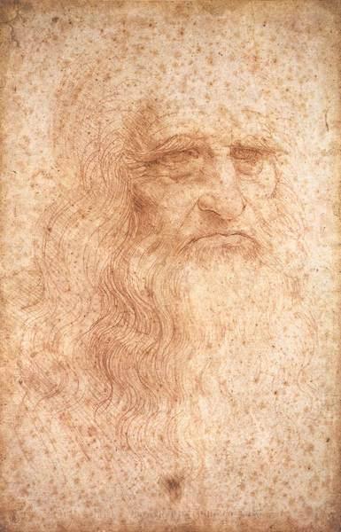 Genom projektet hoppas man bland annat kunna besvara om det här porträttet verkligen föreställer Leonardo själv. Foto: Wikimedia Commons,