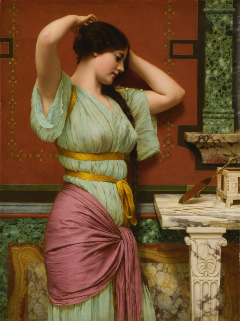 John William Godward, « Julia », 1914, image ©Sotheby's