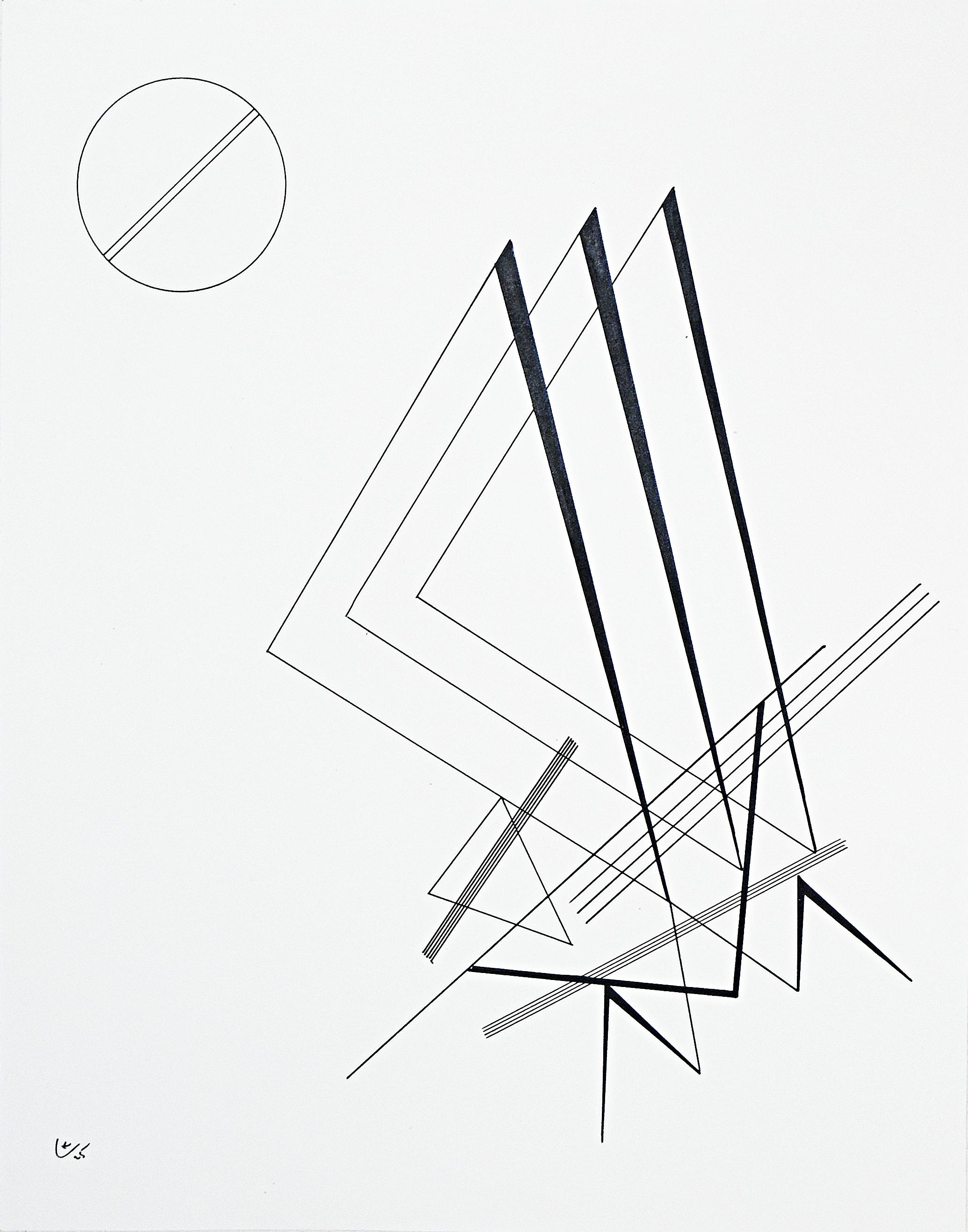 Ohne Titel (Untitled, 1925), Vassily Kandinsky