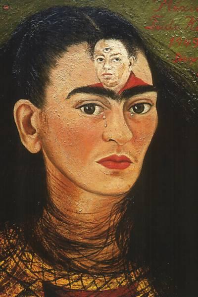 """""""Diego y yo"""", 1949."""
