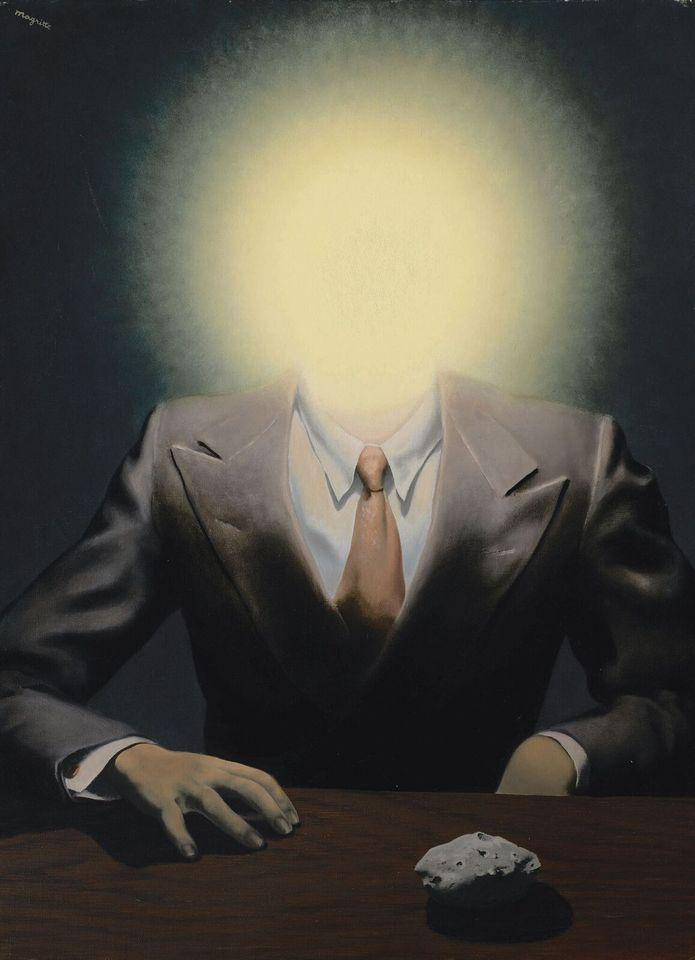 René Magritte, « Le  principe  du  plaisir », 1937, image ©Sotheby's