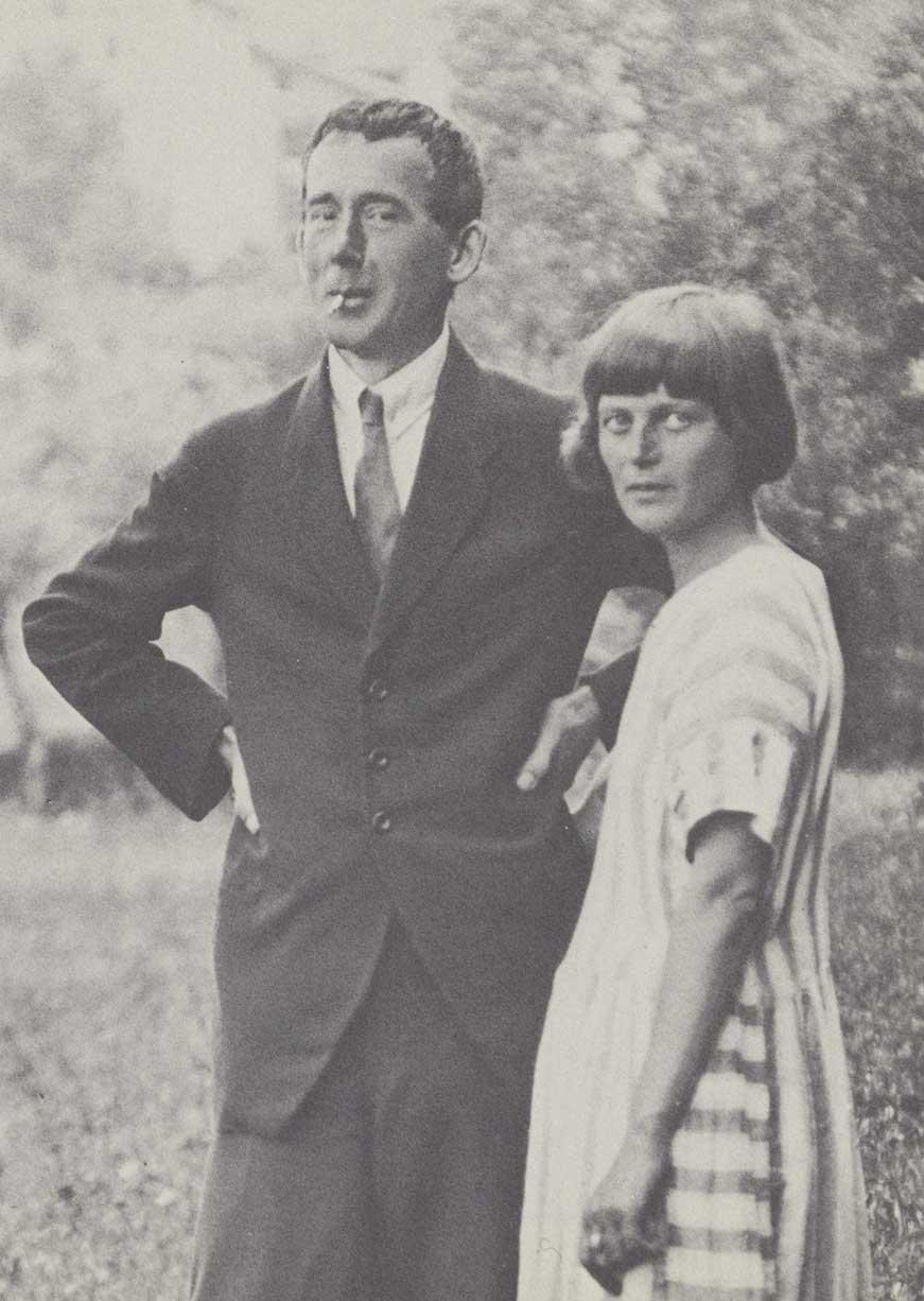 Hugo Ball och Emmy Hennings. Bild: jaquo.com