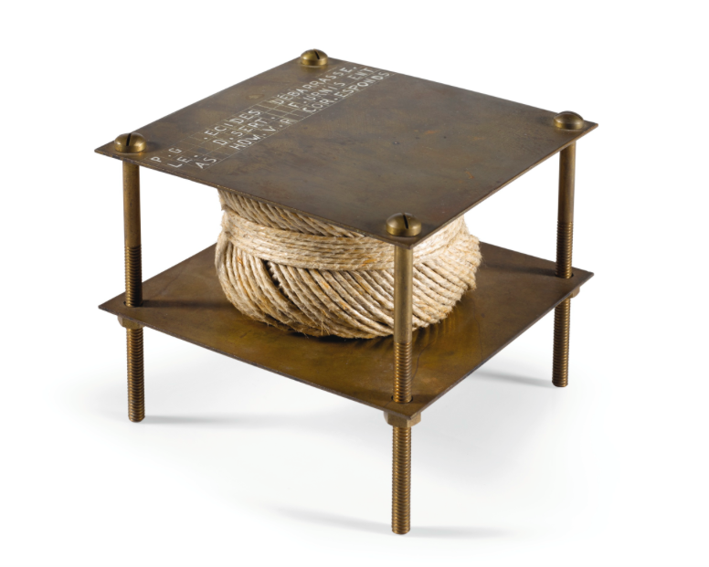 Marcel Duchamp, With Hidden Noise (A bruit secret) 1964Estimate: £180 000 — 250 000Hammer price: £557 000
