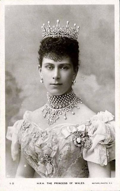 Queen Mary (1867-1953) Princess of Wales