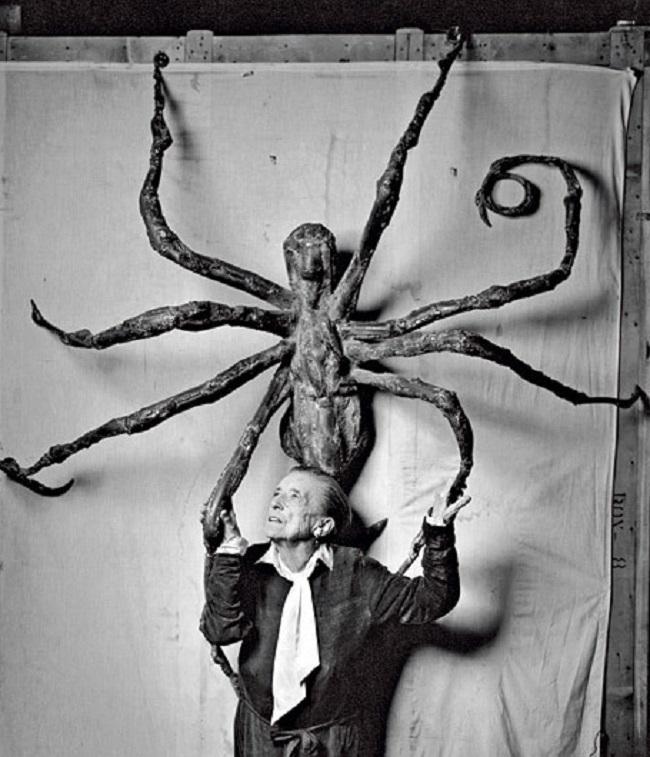 """Louise Bourgeois en 1966, """"Spider V"""". Imagen: Peter Sumner Walton"""