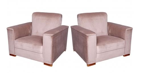 Paire de fauteuils Art-Déco, 1930, France Fins de siècles & Plus