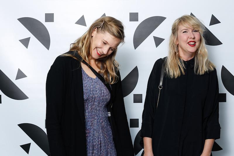 Ett par av kvällens gäster på Hasselblad Award 2017 var Helga Härenstam, fotograf och Stina Edblom, Göteborgs Konsthall
