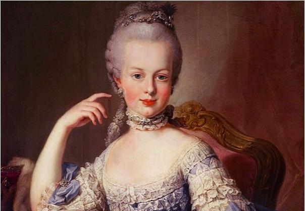 Den franska drottningen Maria Antionette