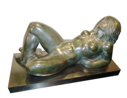 René Letourneur Le Rêve, 1976 Bronze, EA 1/8 Boccara