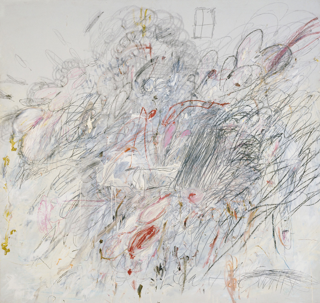 Cy Twombly, Leda and the Swan, 1962Image: MoMA