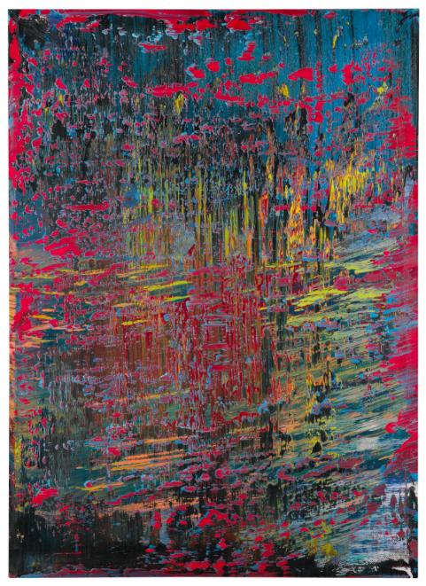 Gerhard Richter, Abstraktes Bild, 1988