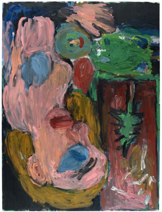GEORG BASELITZ (*1938 Deutschbaselitz) - Rote Mutter mit Kind, 1985 Sotheby's