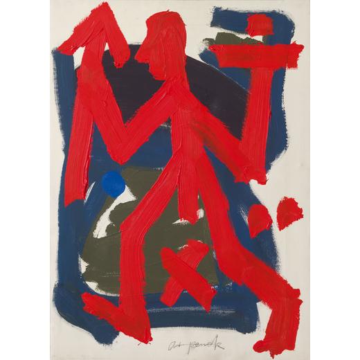 """""""Politischer Krieger"""", 1990er Jahre Wannenes"""