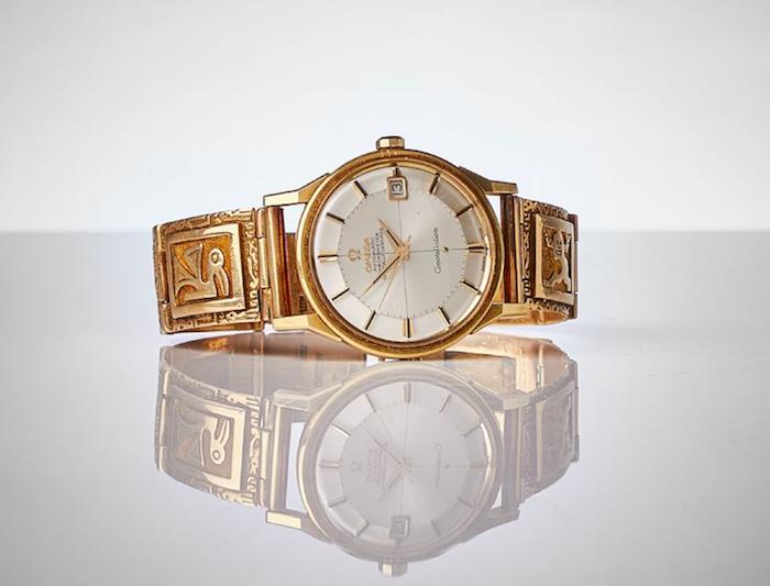 Armbandsuret Omega Constellation, Automatic Chronometer i 18k guld med ett utrop på 15 000 kronor