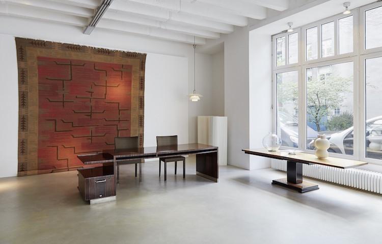 Interiör från Jacksons showroom på Lindenstrasse 34 i Berlin