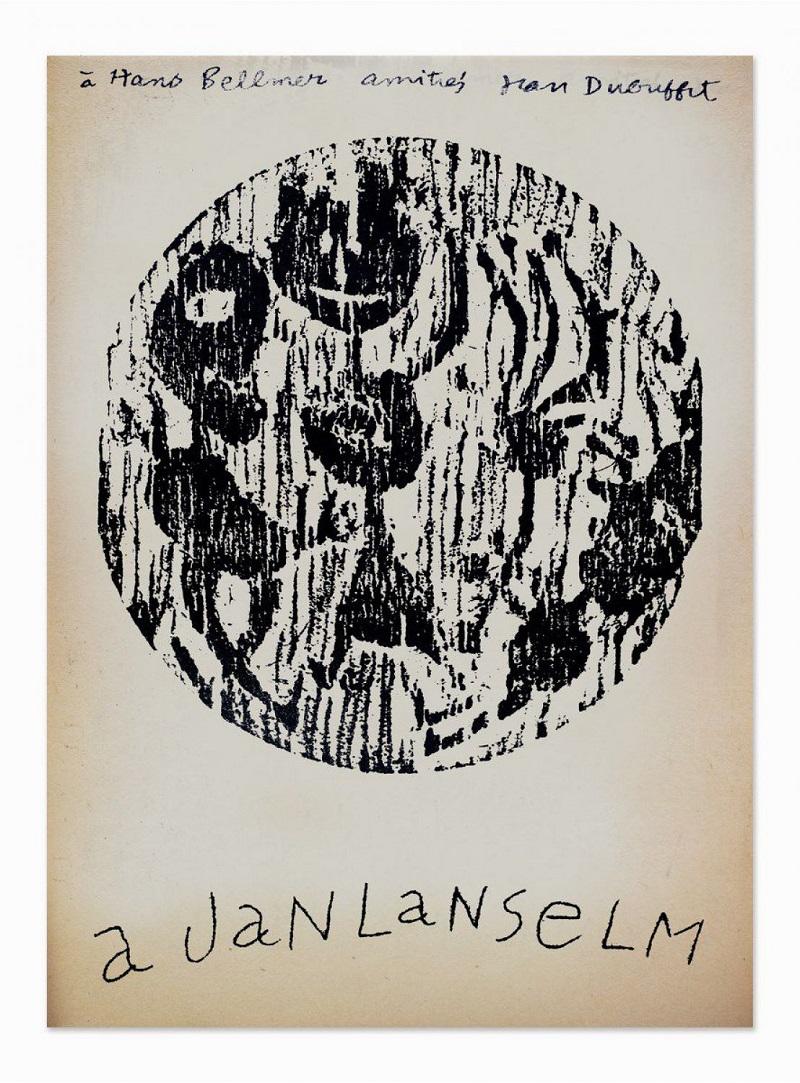 "JEAN DUBUFFET. ""Ler dla canpane"" L'art brut (1948)"
