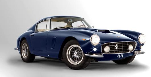 1963 Ferrari 250 GT SWB Berlinetta, châssis 4065 Image via Artcurial