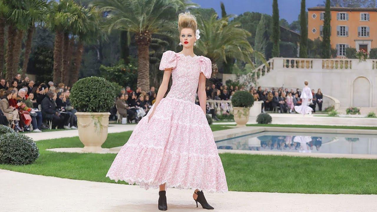 Défilé Chanel, Collection Spring/Summer 2019, image via Pinterest