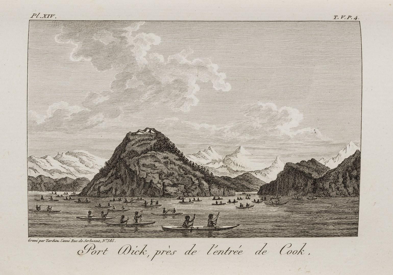 Voyages de découvertes, George Vancouver. 1801-2
