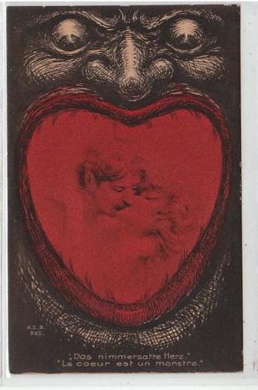 """Illustration """"Le coeur est un monstre"""" Clément Maréchal"""