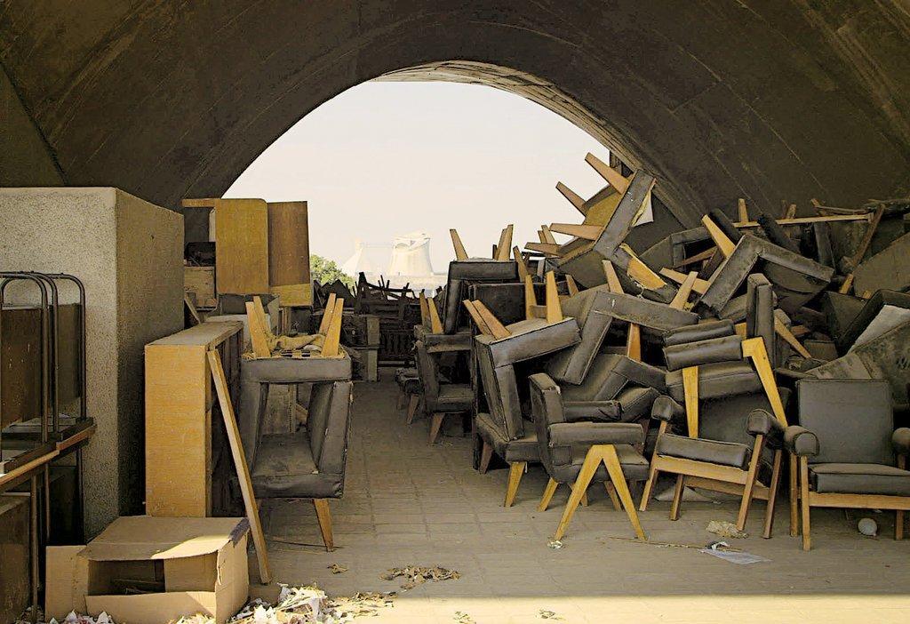 On ne sait pas exactement combien de meubles ont été perdus pendant ces réaménagements