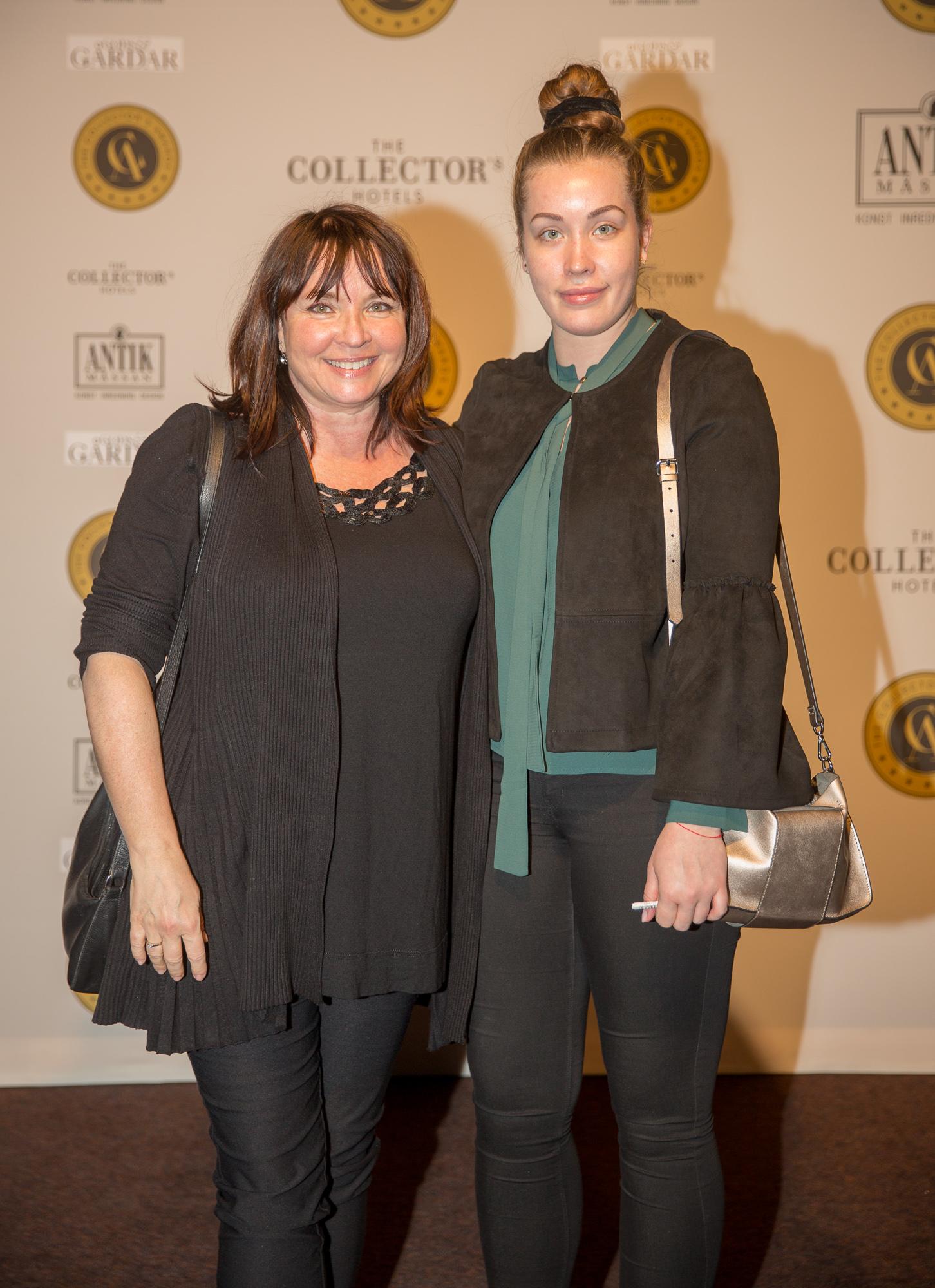 Michaela Jolin med dottern Matilda Jolin