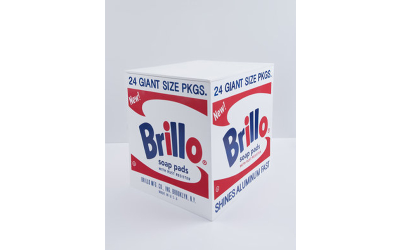 Andy Warhol, 'Brillo Box', 2016, synthetic polymer paint and silkscreen ink on plywood. Photo: Alyes Auctions.