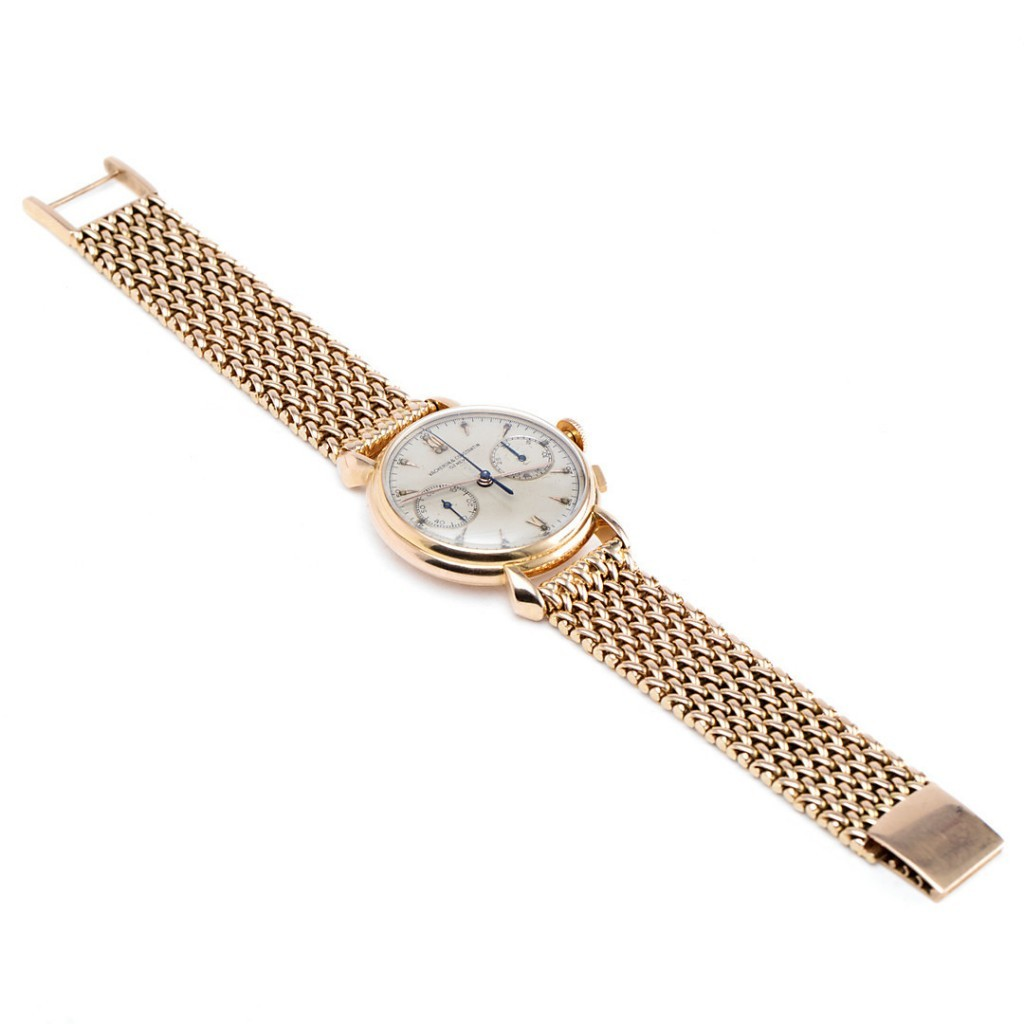 Boîtier et bracelet en or rose 18 carats