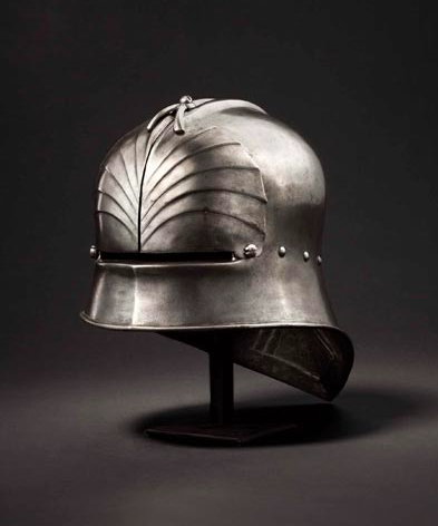 Late Gothic sallet Starting bid: $17 000