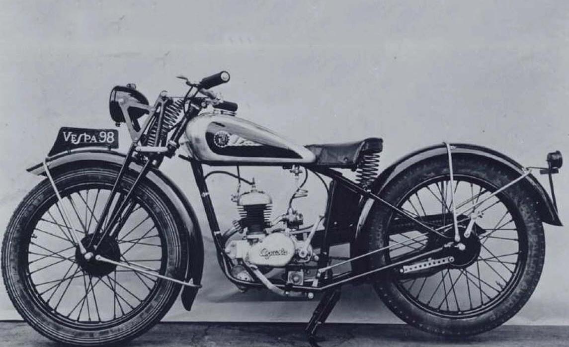MV Agustas motorcykel, bild via Bennetts