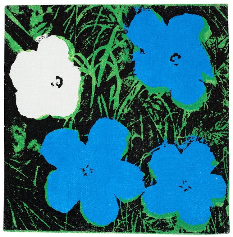 """""""Flowers"""" av Andy Warhol ropas ut för 3,5-4 miljoner på Bukowskis Contemporary & design den 12 maj"""