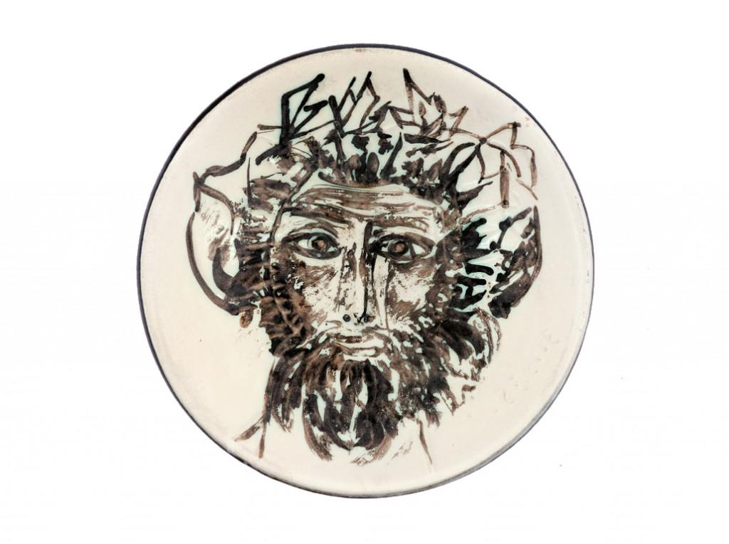 Pablo Picasso, « Visage de Faune », en vente chez Catawiki