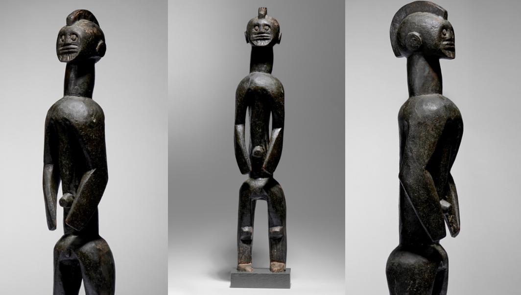 Statue Mumuye Nigeria Bois - 80 cm Image: Courtesy of Native Auctions
