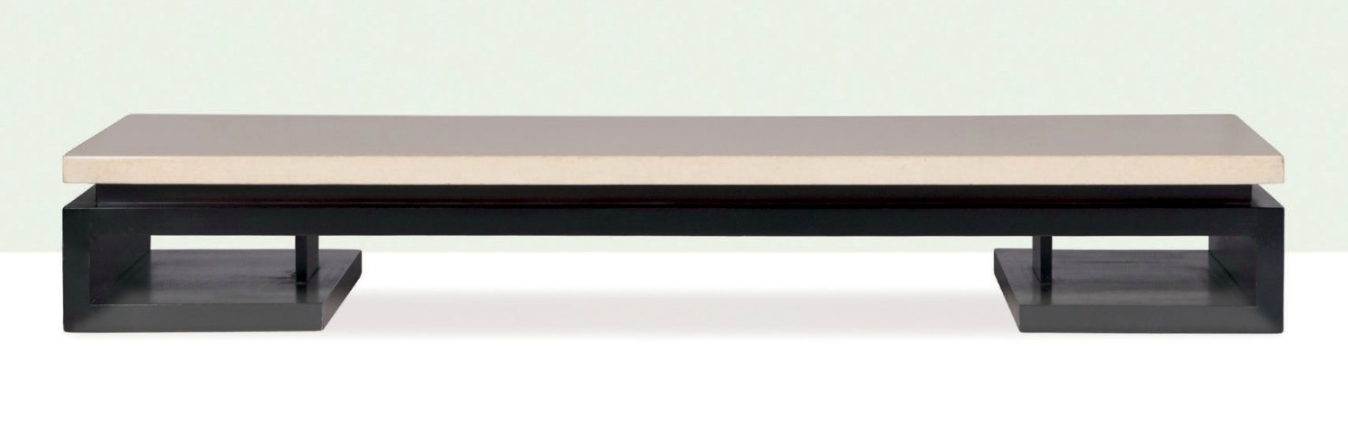 PAUL T. FRANK - Tisch, Palisander, Kork, Johnson Furniture Company, 1948