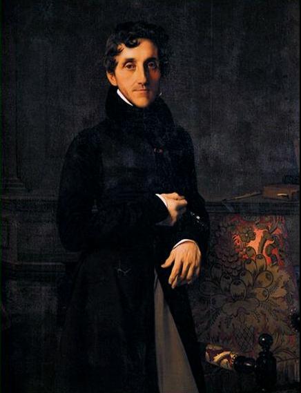 Louis-Mathieu Molé (1781-1855) Ingres Louvre