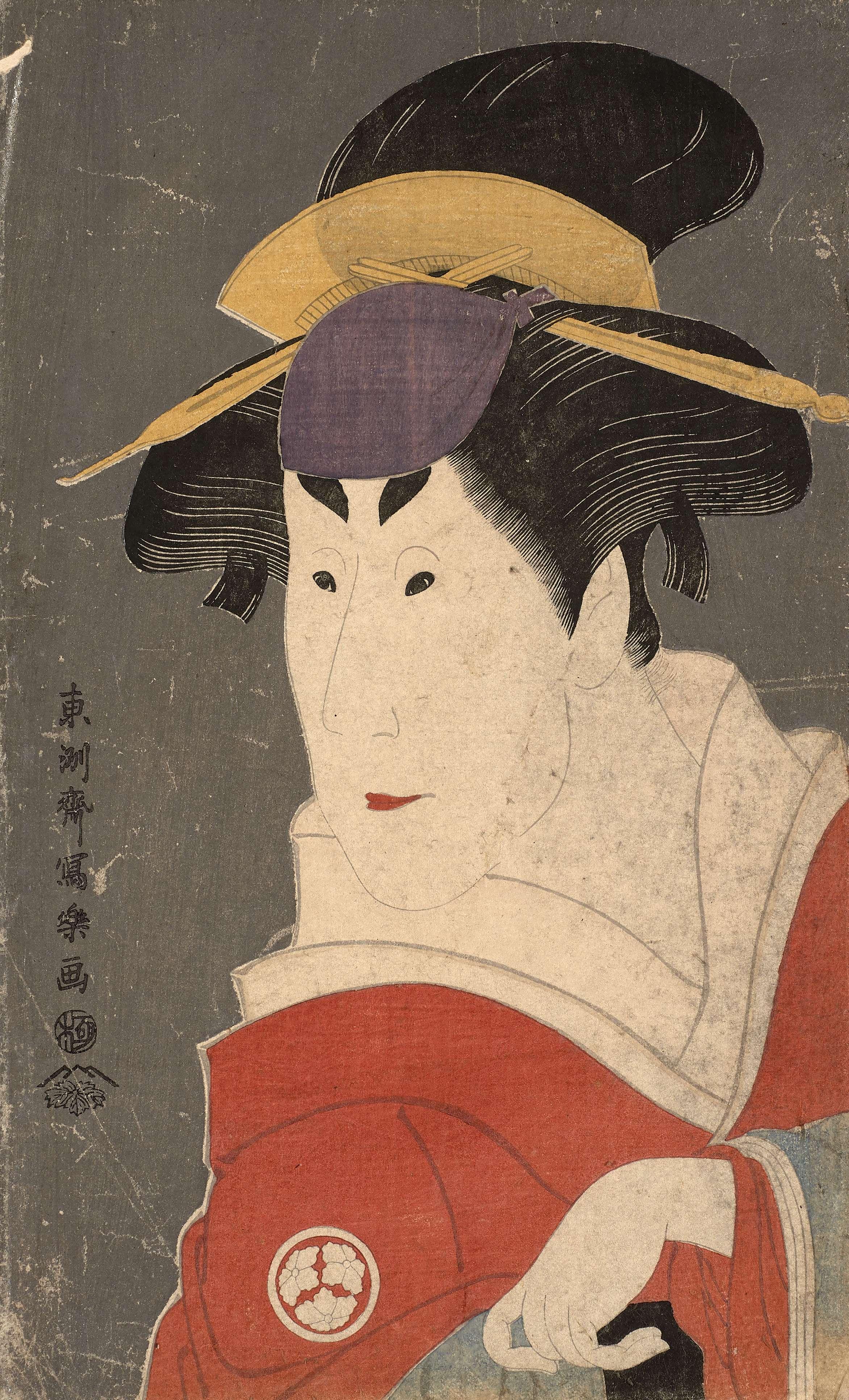 Portrait of Osagawa Tsuneyo II, Toshusai Sharaku