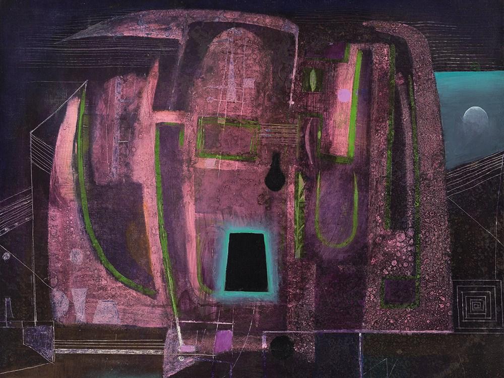 Antoni Tàpies, Oil on Canvas, Dissection of a Nocturne, 1953. Schätzpreis: 80 000 EUR. Auctionata