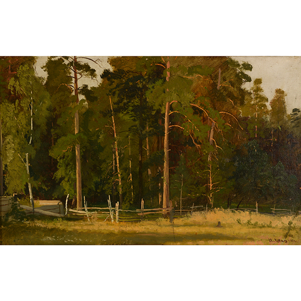 Ivan I. Shishkin painting