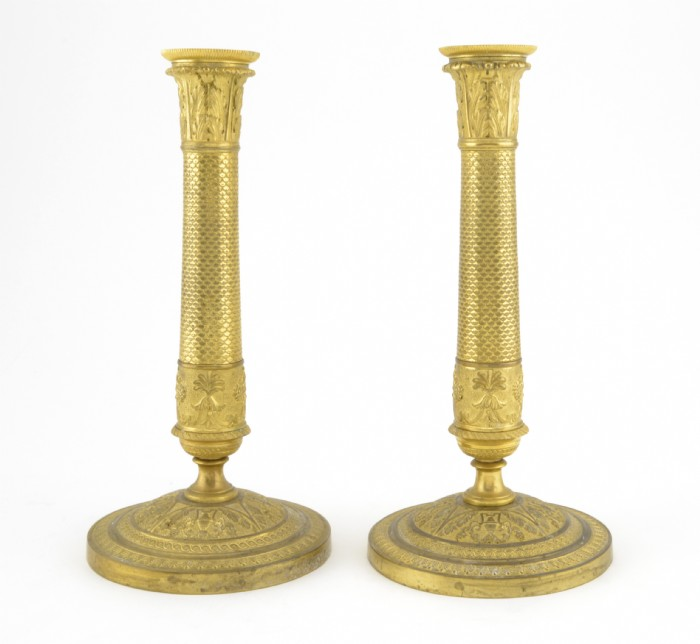 Ljusstakar, ett par. Utrop: 1.000 SEK Crafoord Auktioner