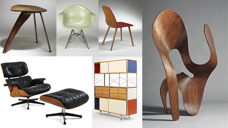 A few of the duo´s famous pieces. Photo: Barnebys.