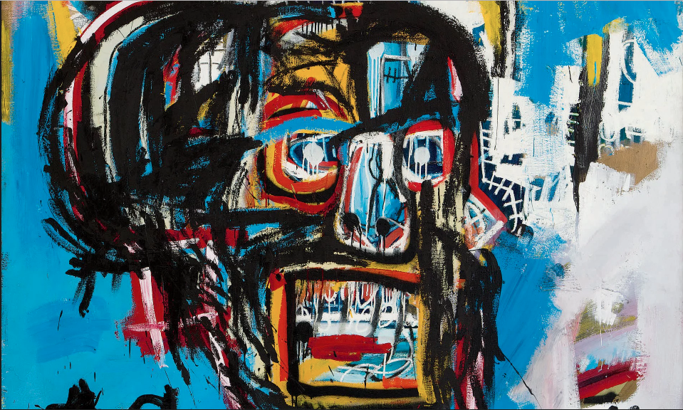 Jean-Michel BASQUIAT (1960-1988), Untitled (1982) vendu 110 487 500 $ en mai dernier par Sotheby's New York