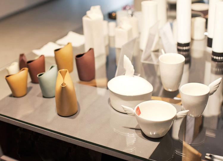 Unik design i Design Forum shop.