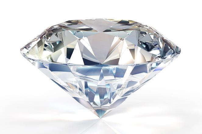 Un diamant taillé scintille de mille feux Image via Bijouterie Lampron