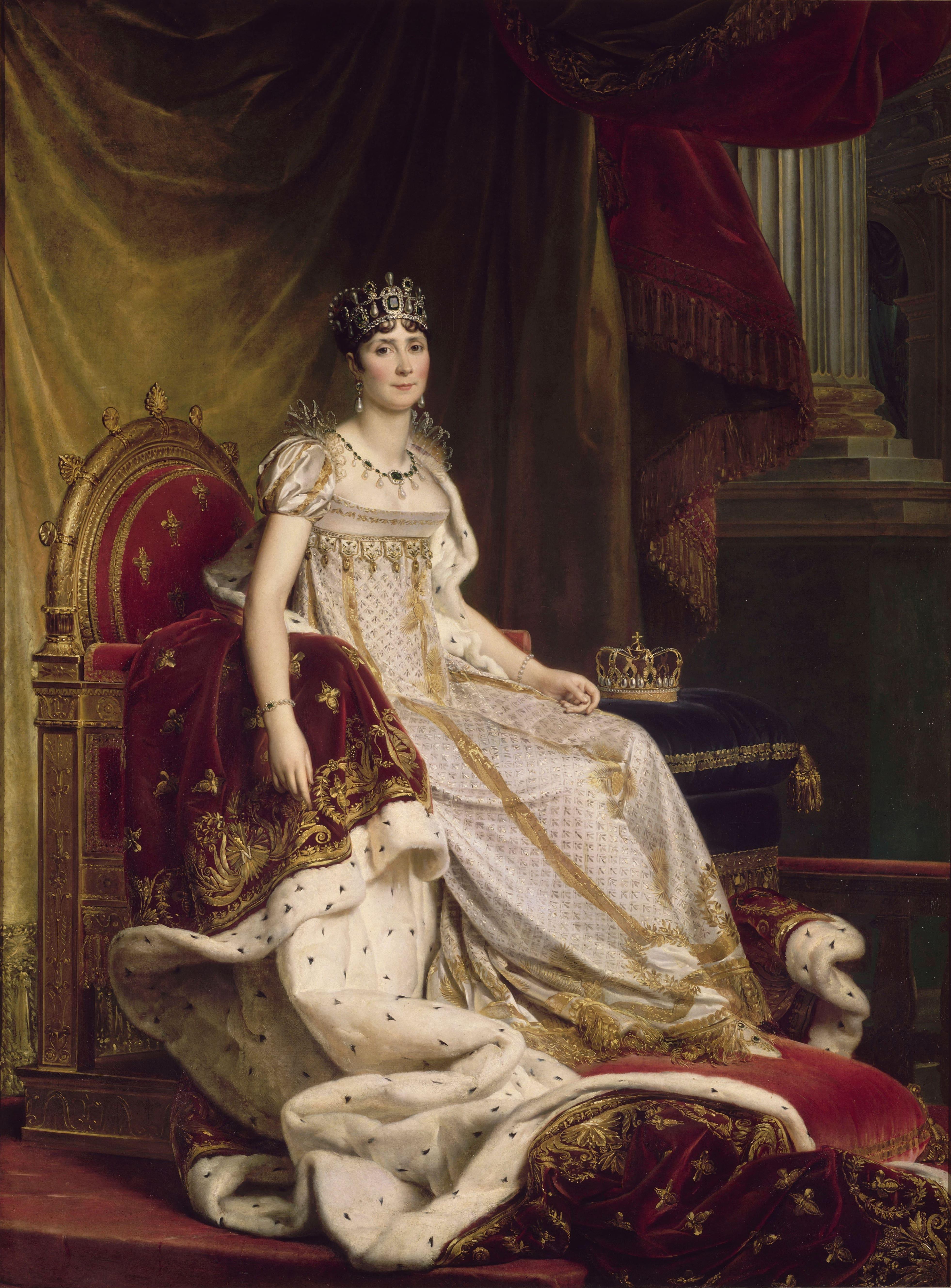 François Gérard, Kaiserin Joséphine, 1808
