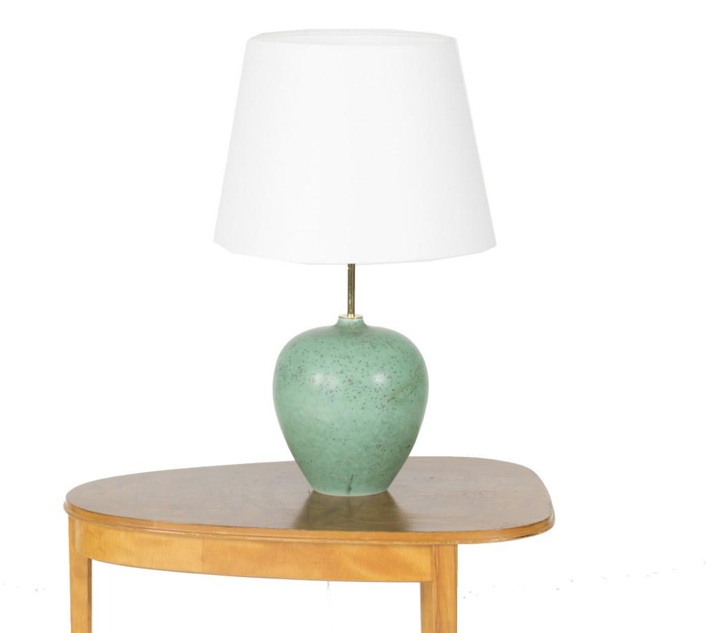 Lampe en forme de pomme par Gunnar Nylund, années 1950 Nordlings Antik