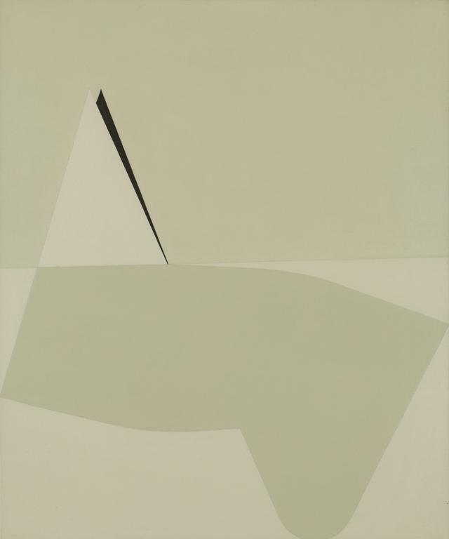 Arturo Bonfanti, E.Q. 234, 1965, Olio su tela.