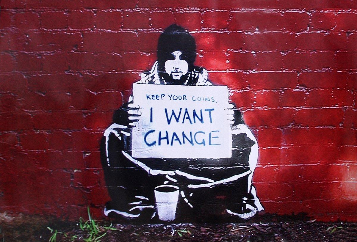 La puissance des dessins de Banksy